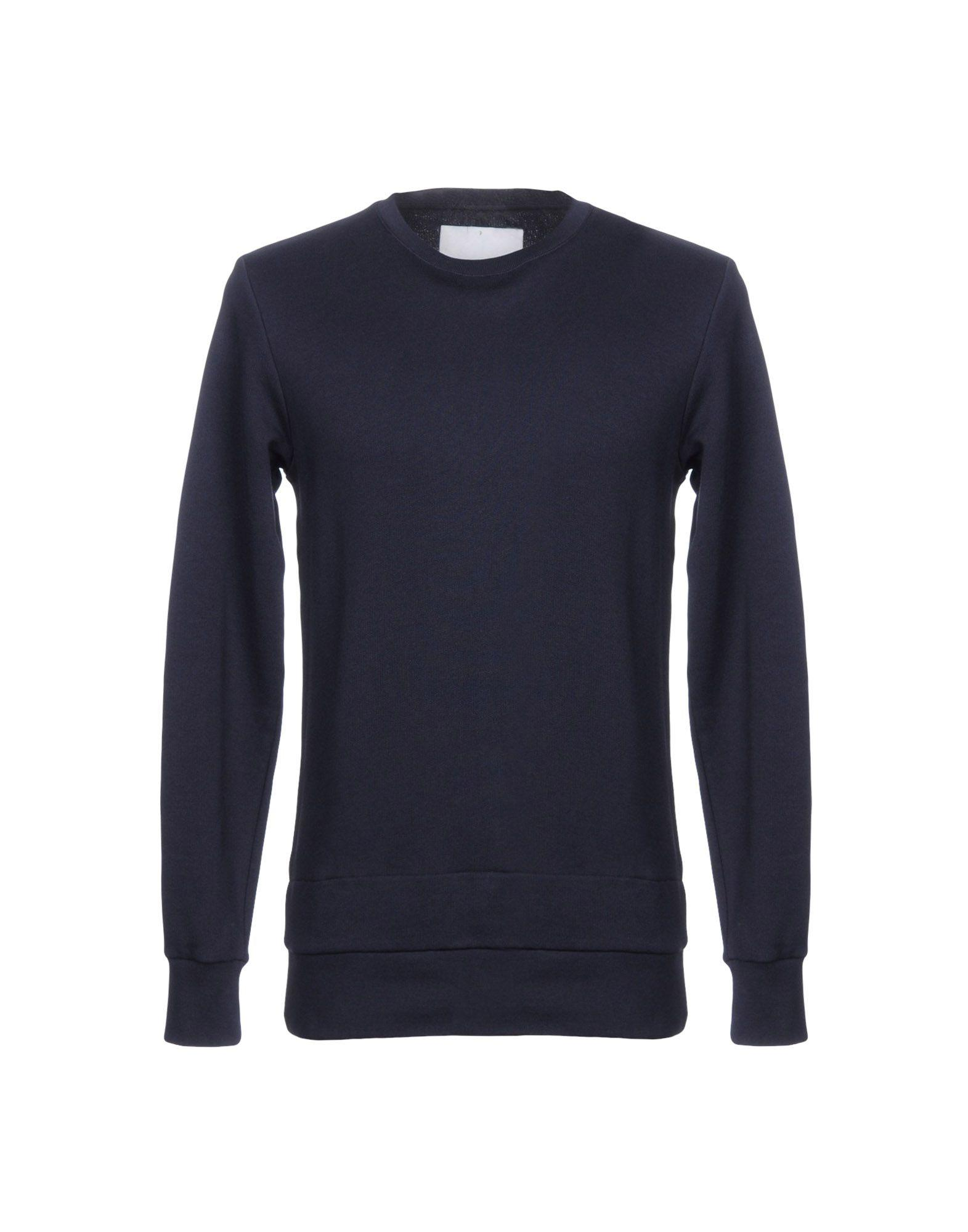 Matthew Miller Sweatshirt In Dark Blue