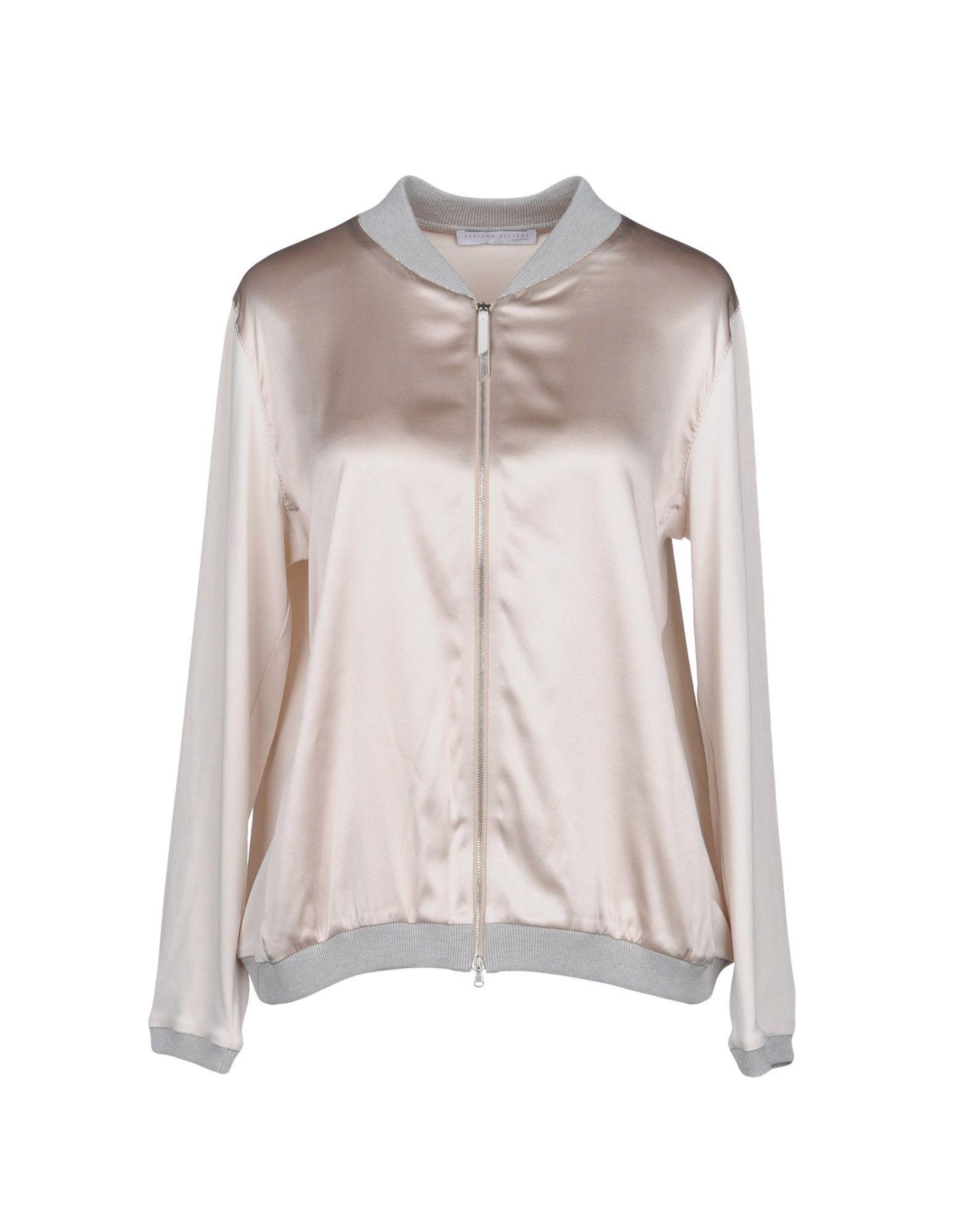 Fabiana Filippi Sweatshirt In Light Grey