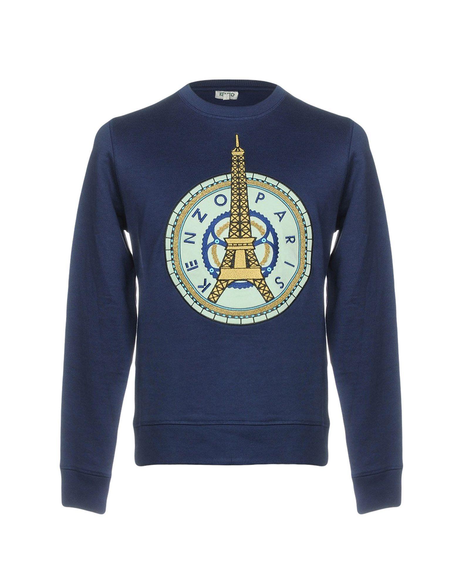 Kenzo Sweatshirts In Dark Blue