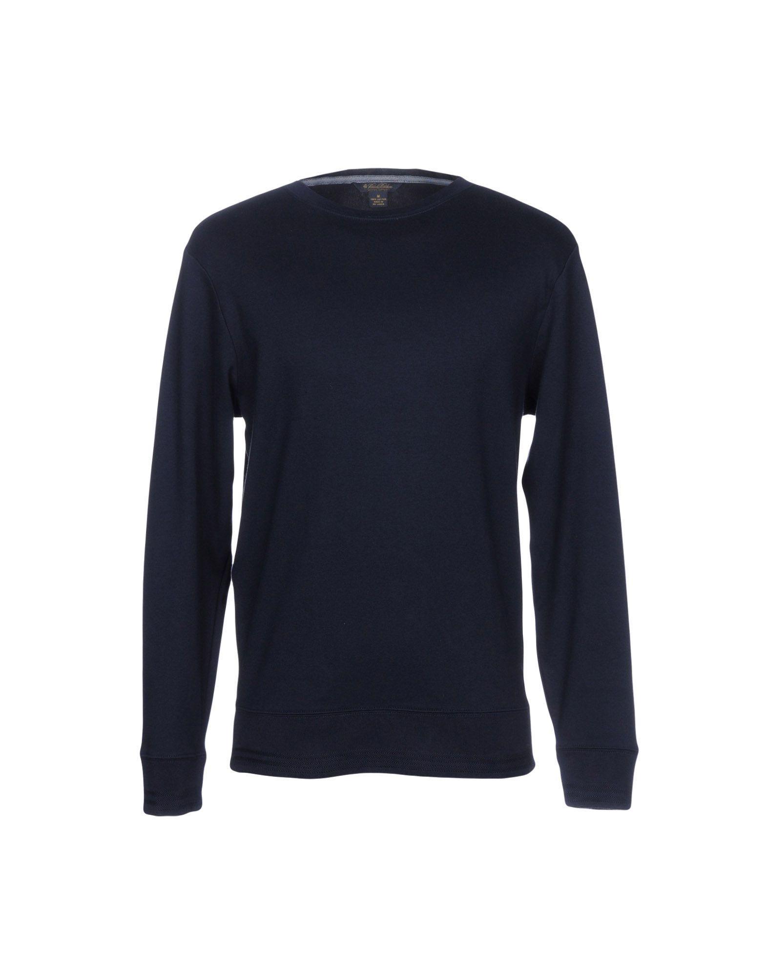 Brooks Brothers Sweatshirts In Dark Blue