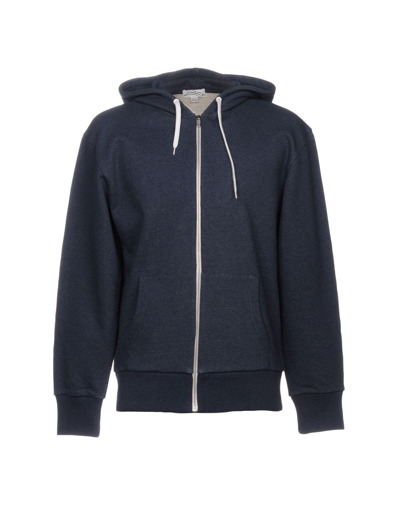 KitsunÉ Sweatshirts In Blue