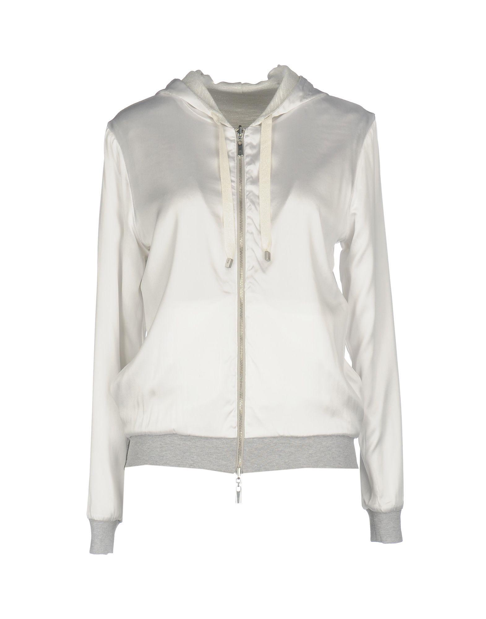 Capobianco Sweatshirts In White