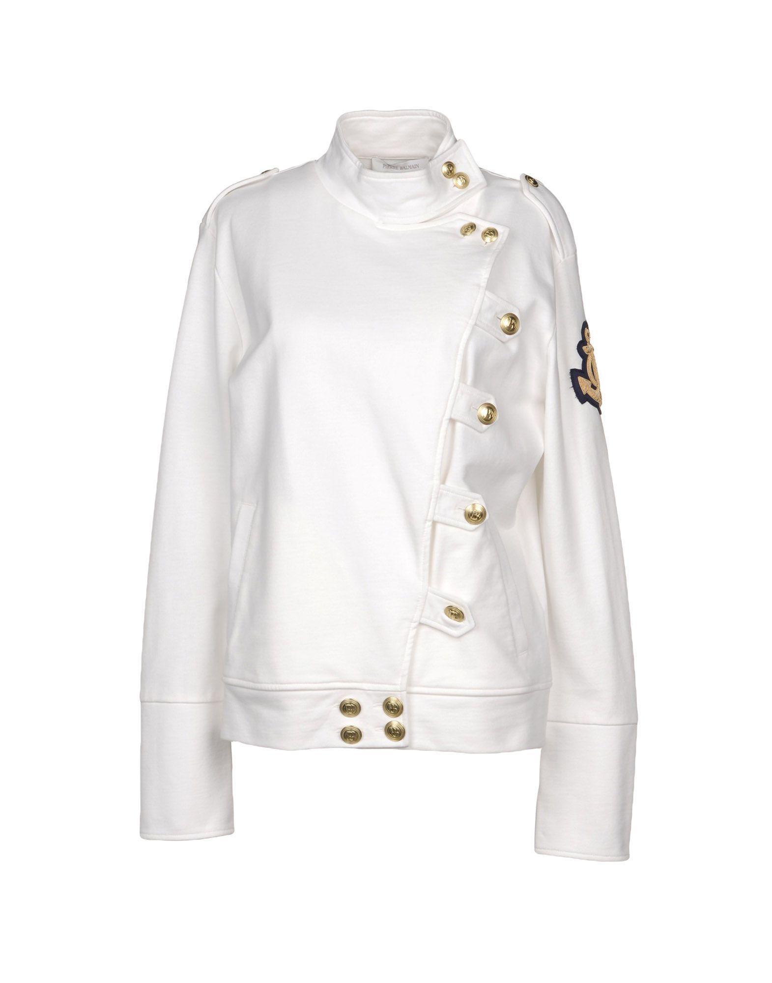 Pierre Balmain Sweatshirts In White