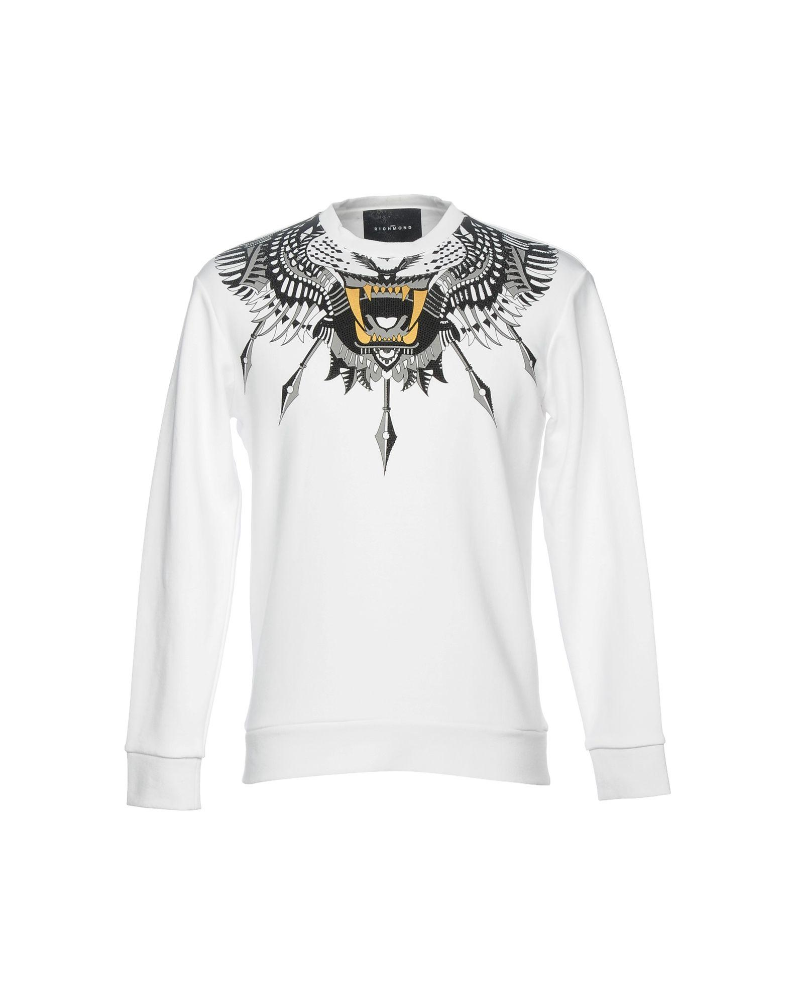 John Richmond Sweatshirt In White