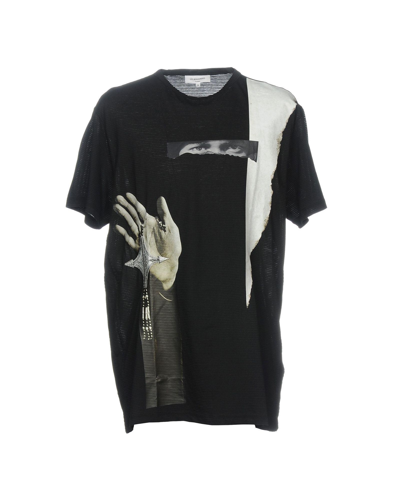 Les Benjamins T-shirt In Black