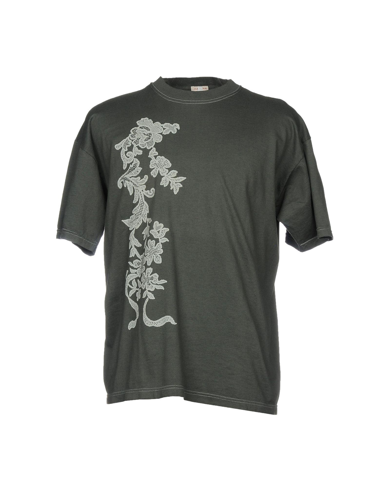 P.a.r.o.s.h. T-shirts In Grey