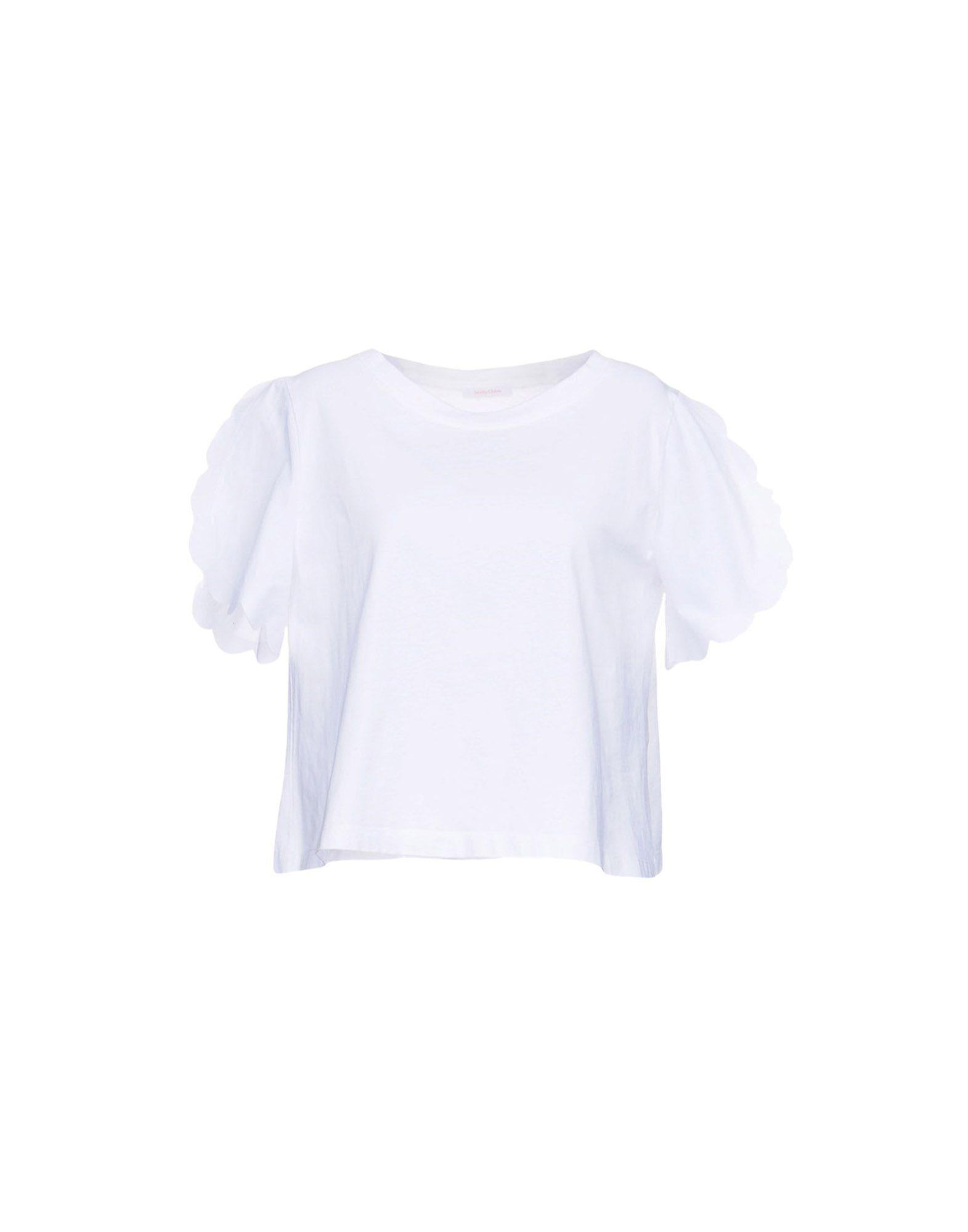 See By ChloÉ T-shirts In White