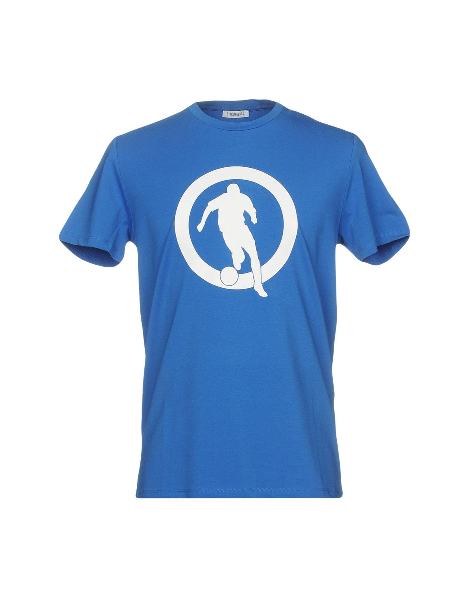 Bikkembergs T-shirts In Blue
