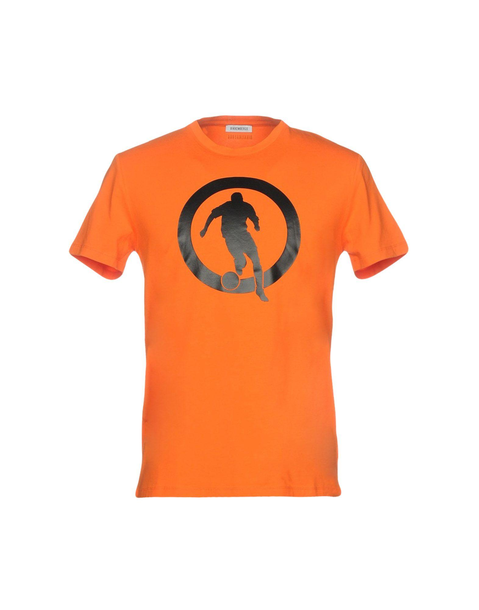 Bikkembergs T-shirt In Orange