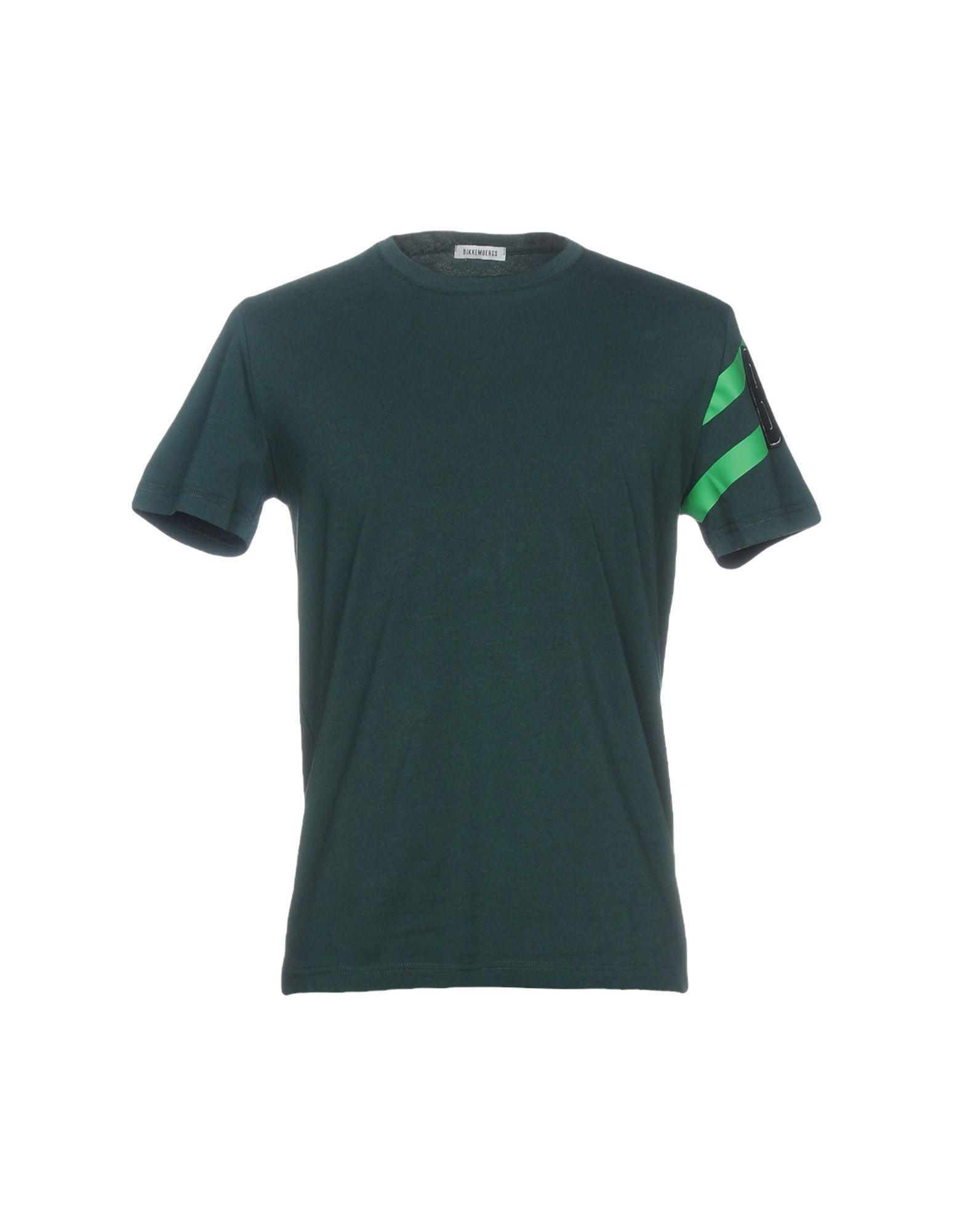 Bikkembergs T-shirt In Dark Green