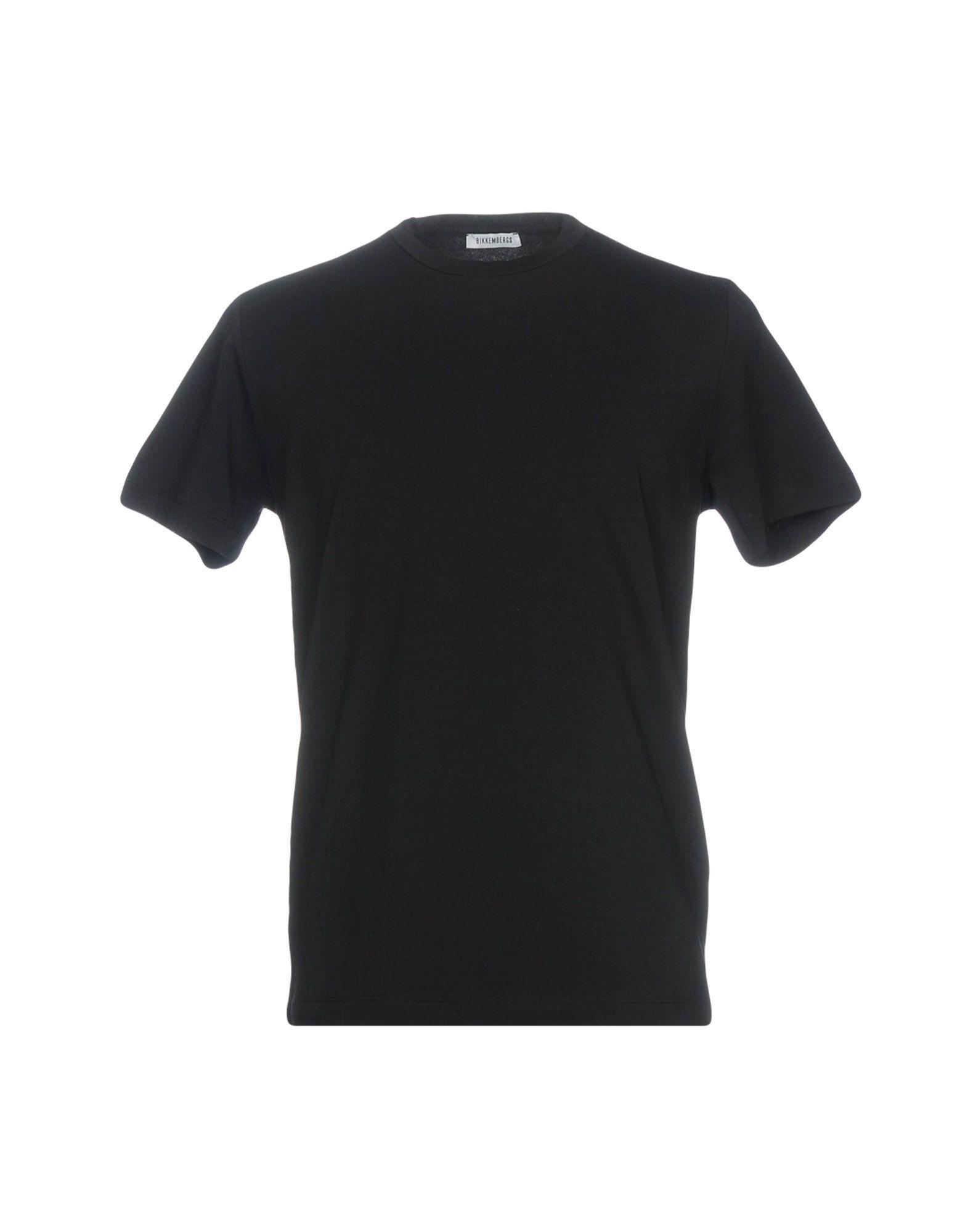 Bikkembergs T-shirts In Black