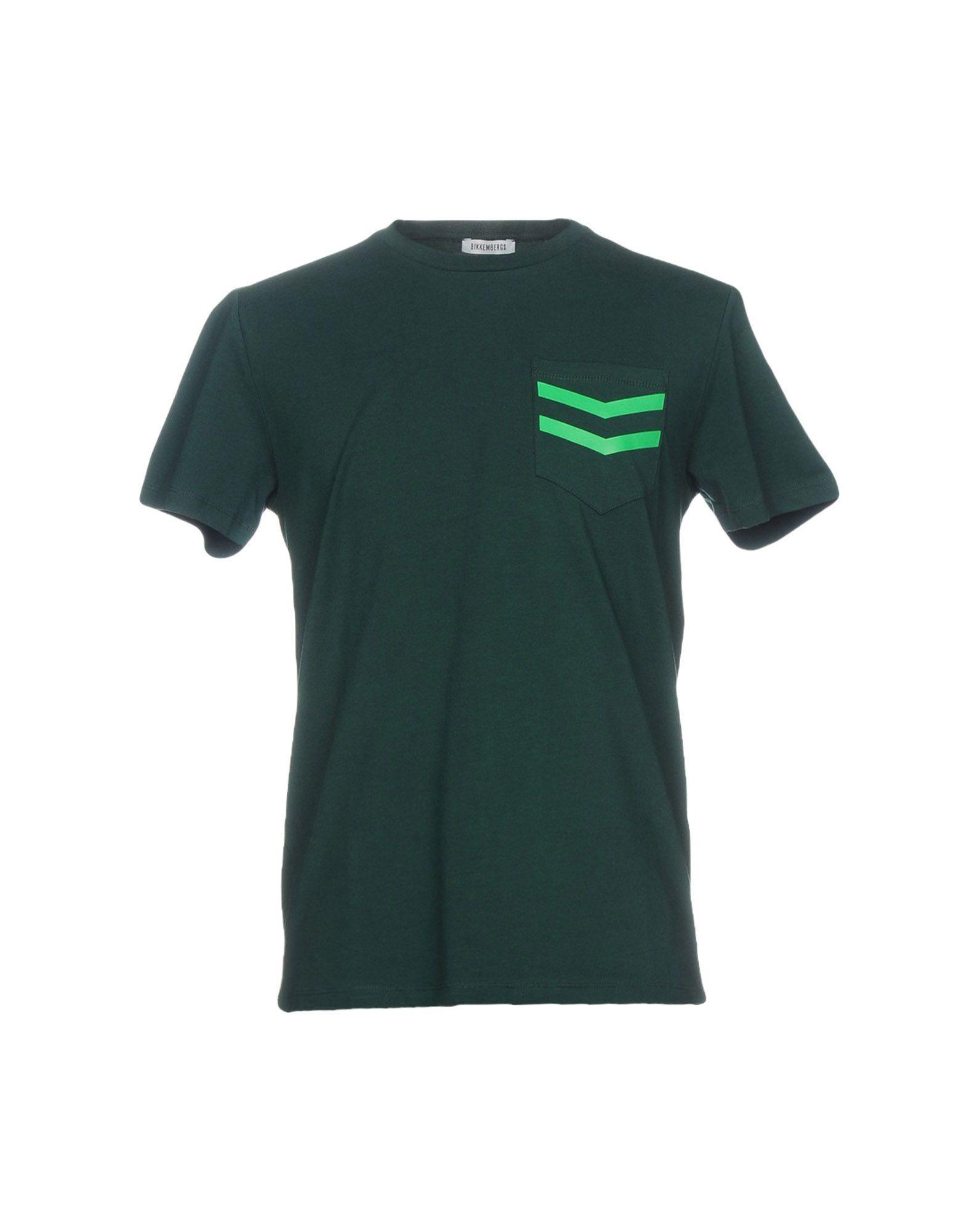 Bikkembergs T-shirt In Dark Green