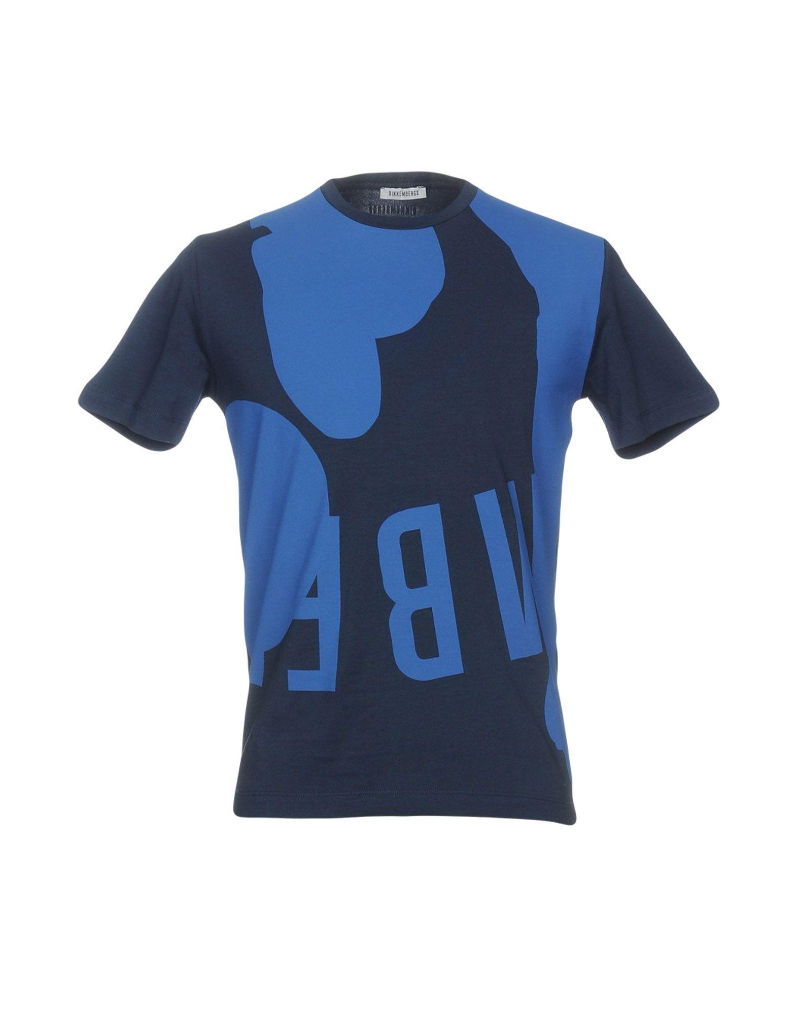 Bikkembergs T-shirt In Dark Blue