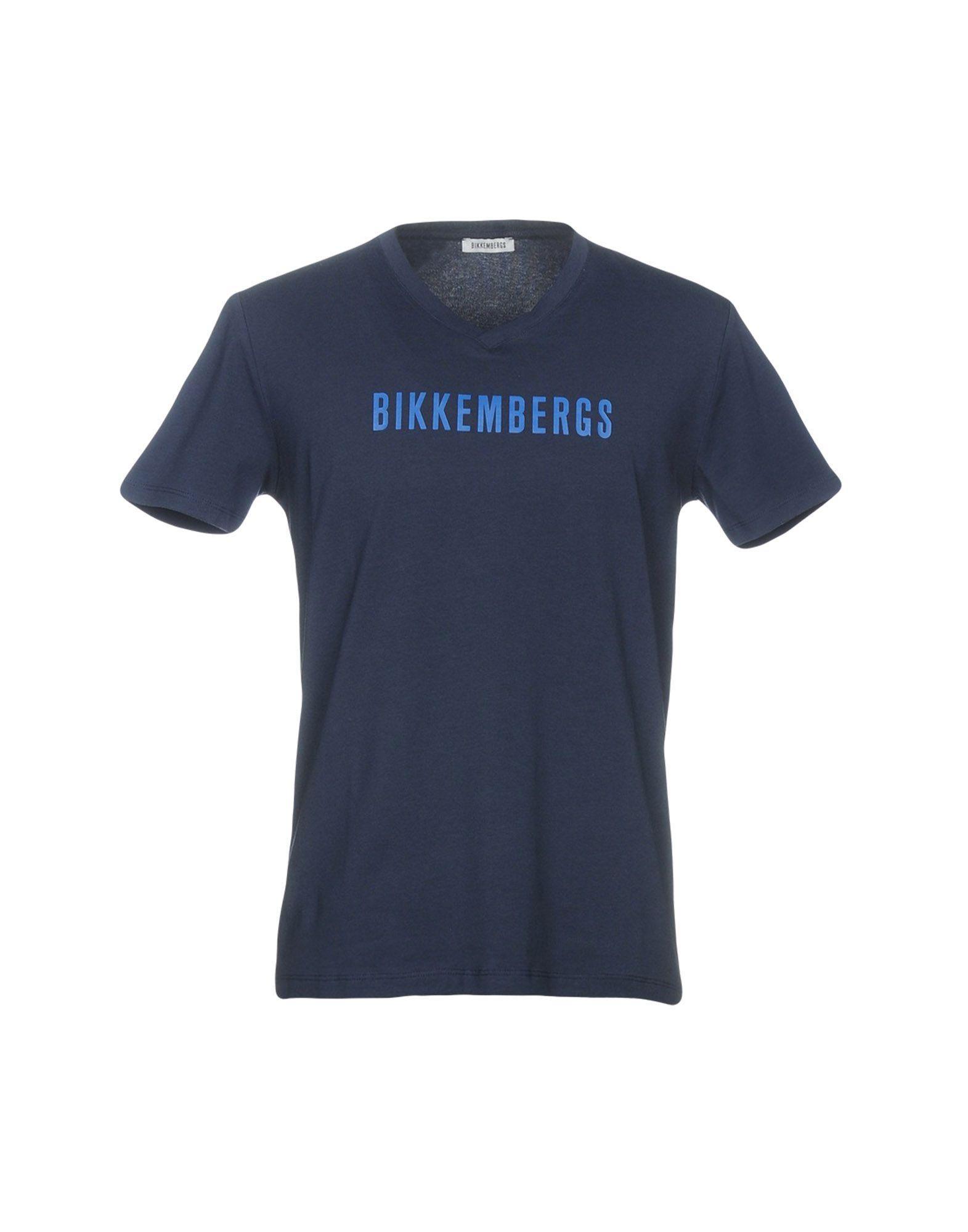 Bikkembergs T-shirt In Dark Blue