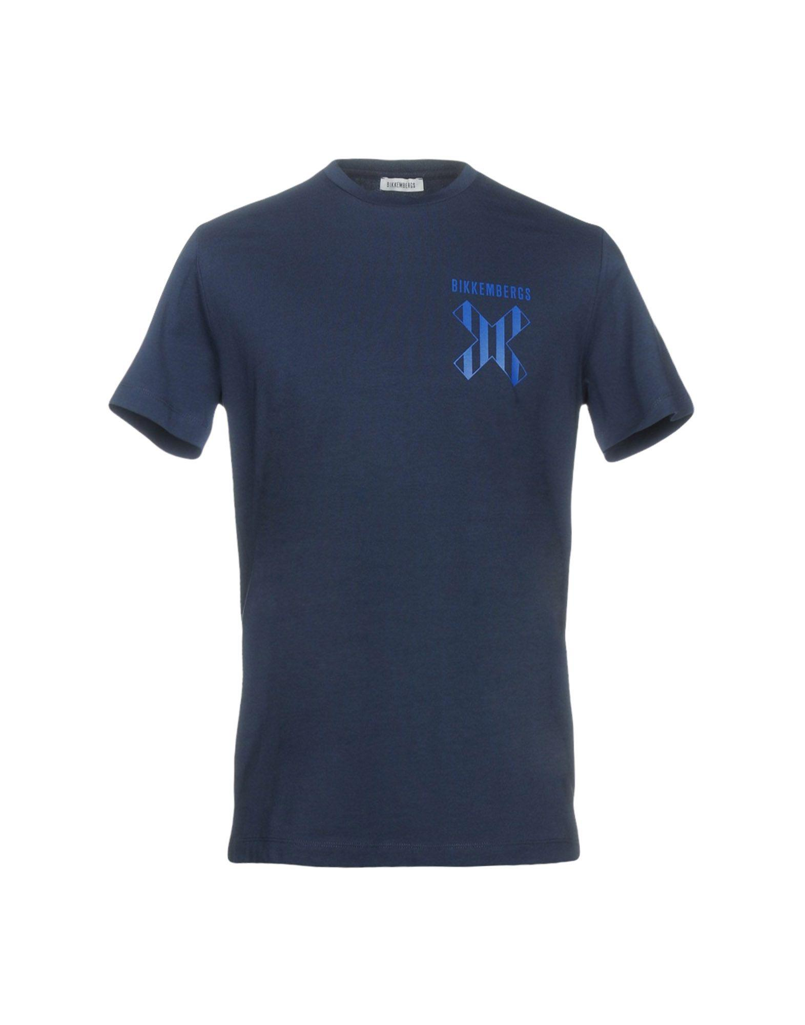 Bikkembergs T-shirts In Dark Blue