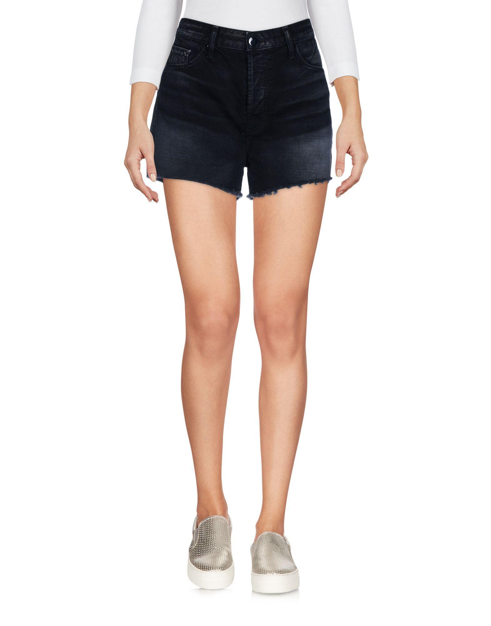 J Brand Denim Shorts In Black