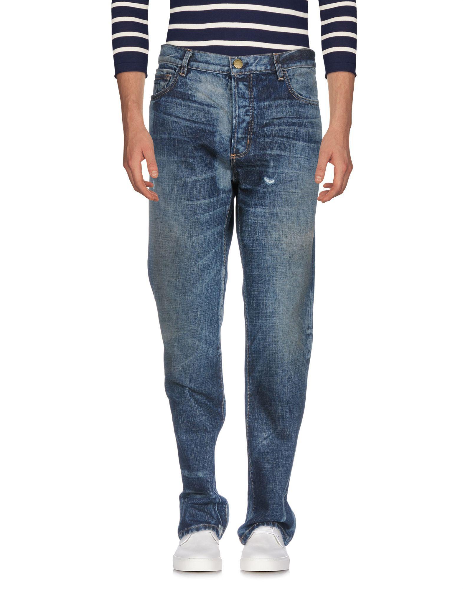 Current Elliott Denim Pants In Blue