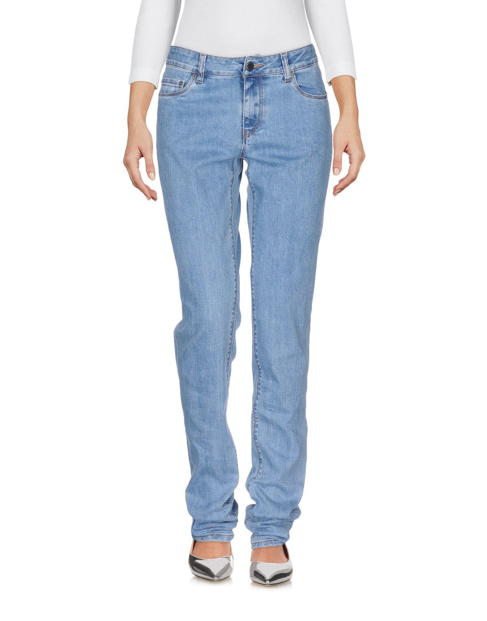 Prada Denim Pants In Blue