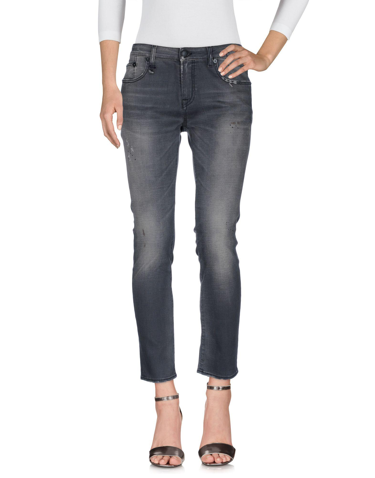 R13 Jeans In Grey