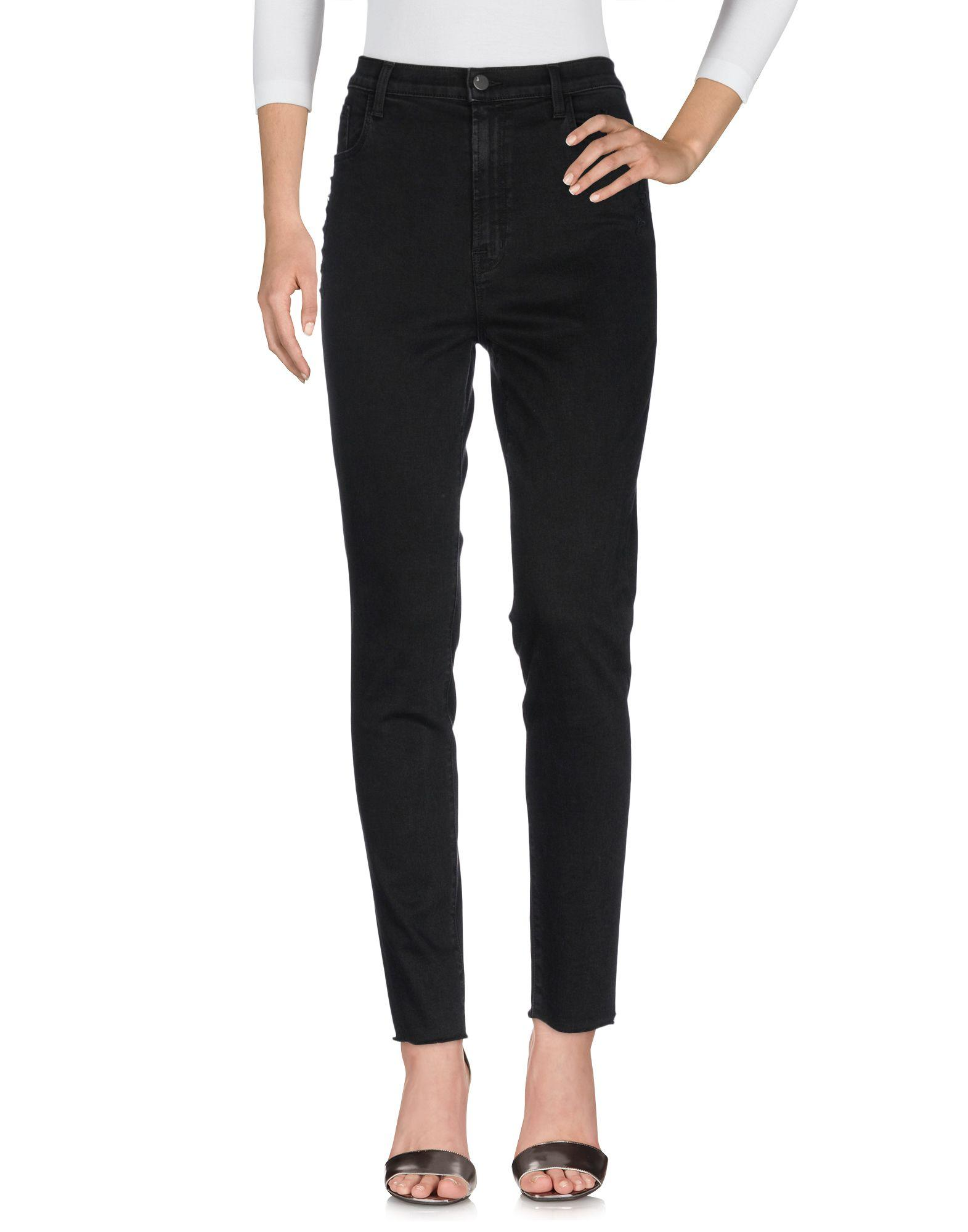 J Brand Denim Pants In Black