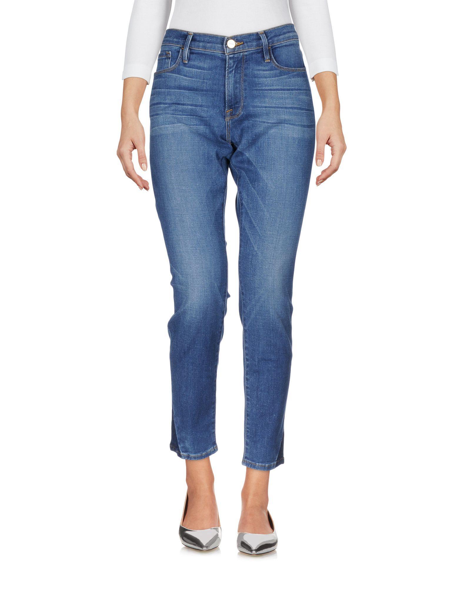 Frame Denim Pants In Blue