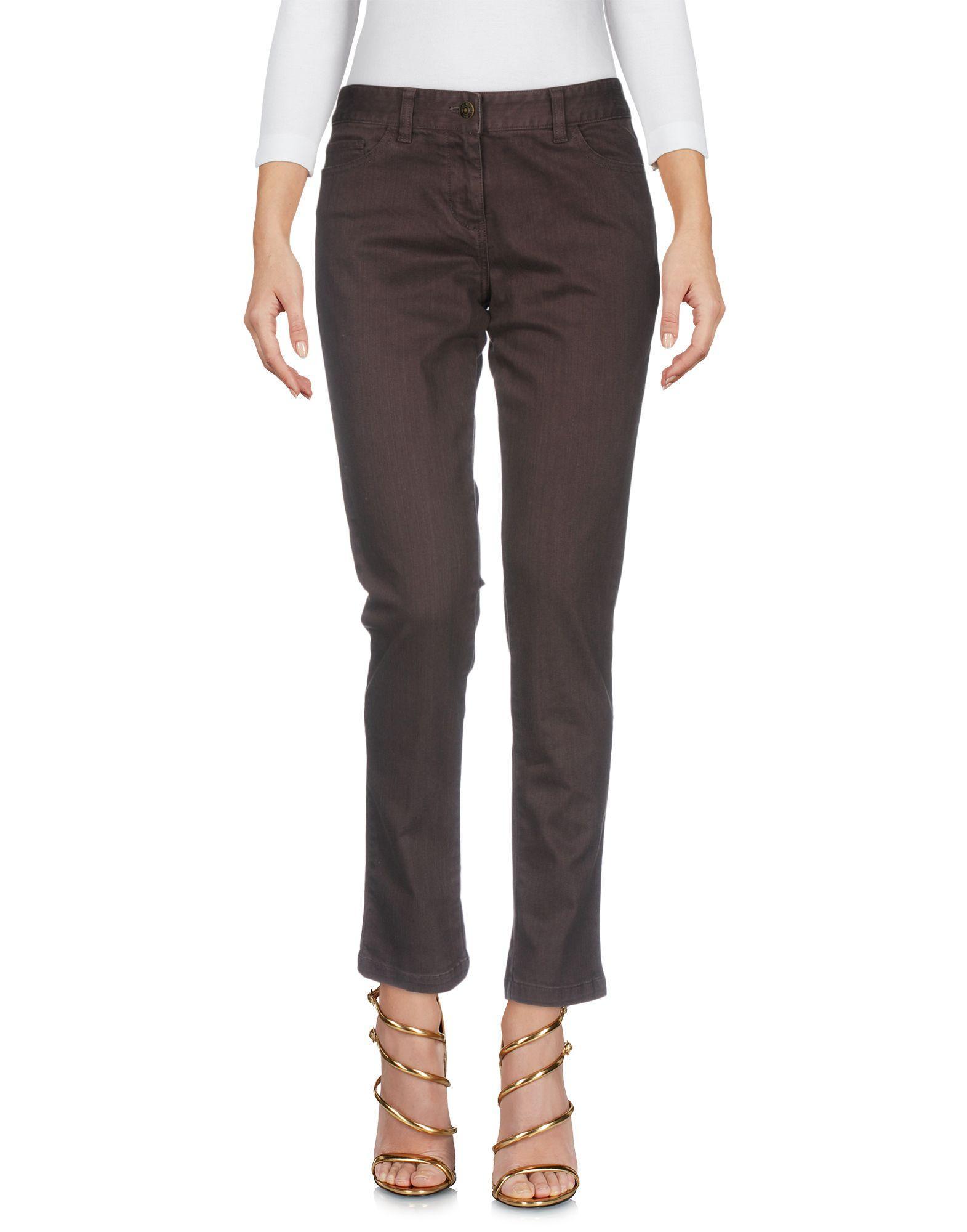 Brooks Brothers Jeans In Dark Brown