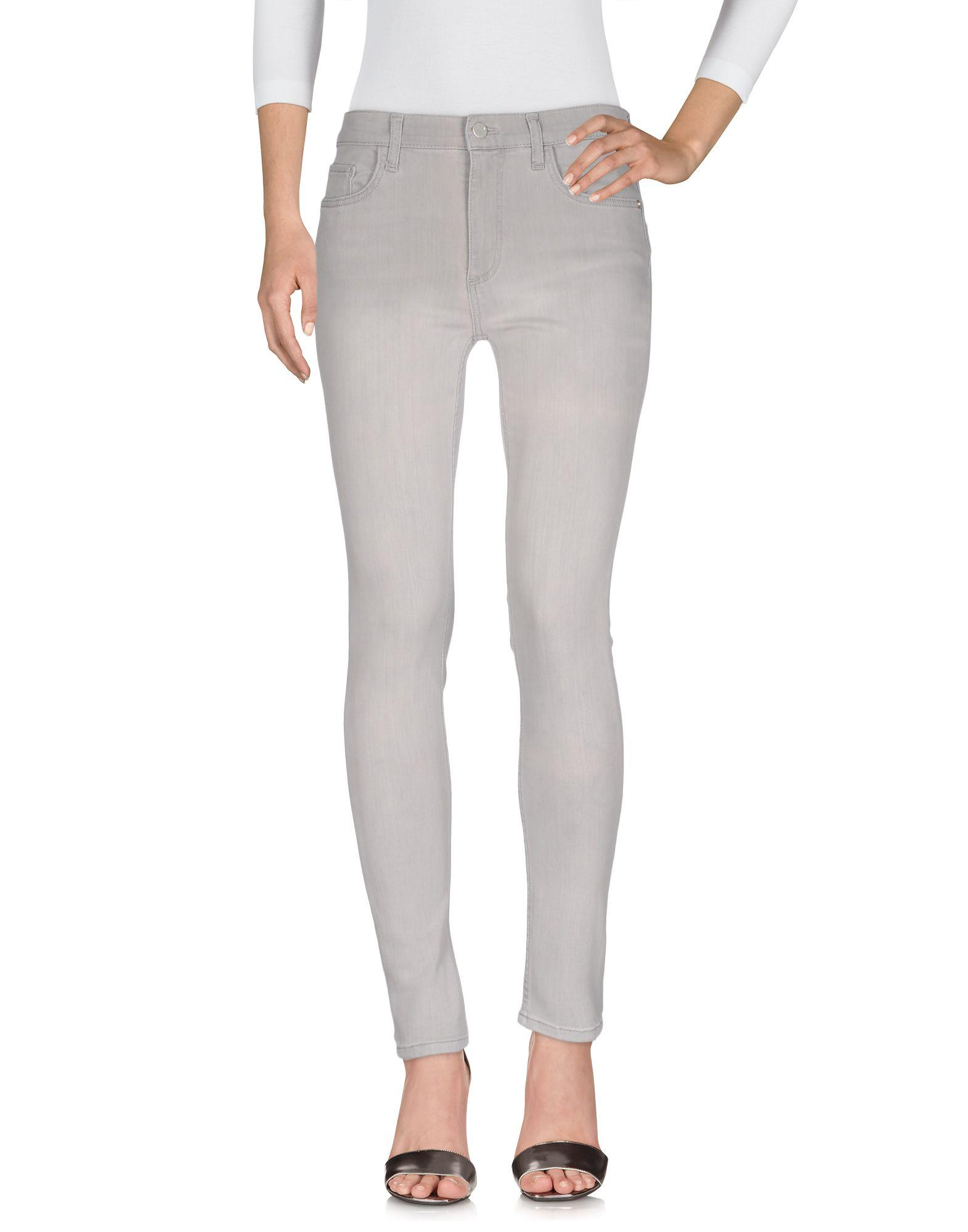 French Connection Denim Pants In Light Grey
