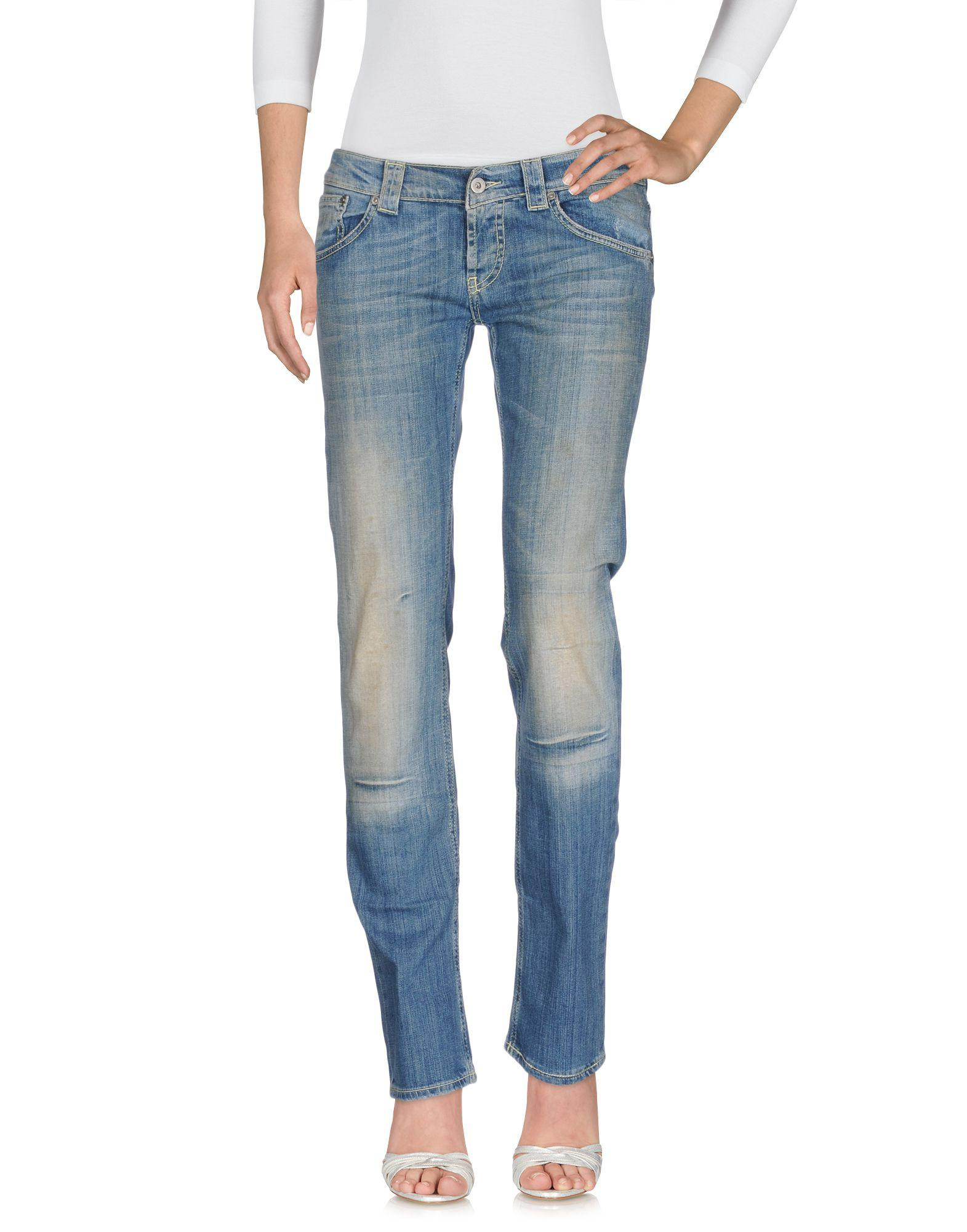 Dondup Denim Pants In Blue