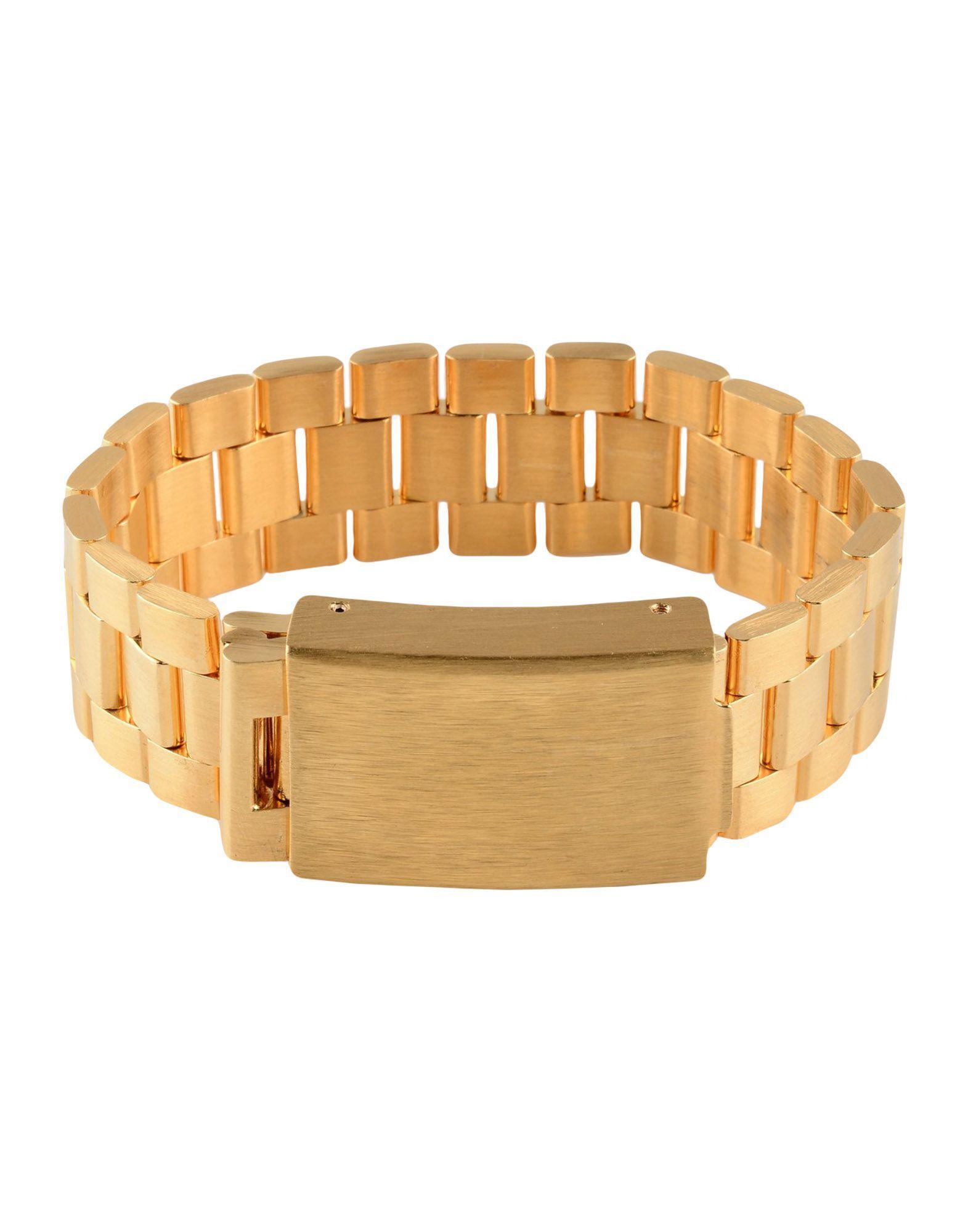 Acne Studios Bracelets In Gold