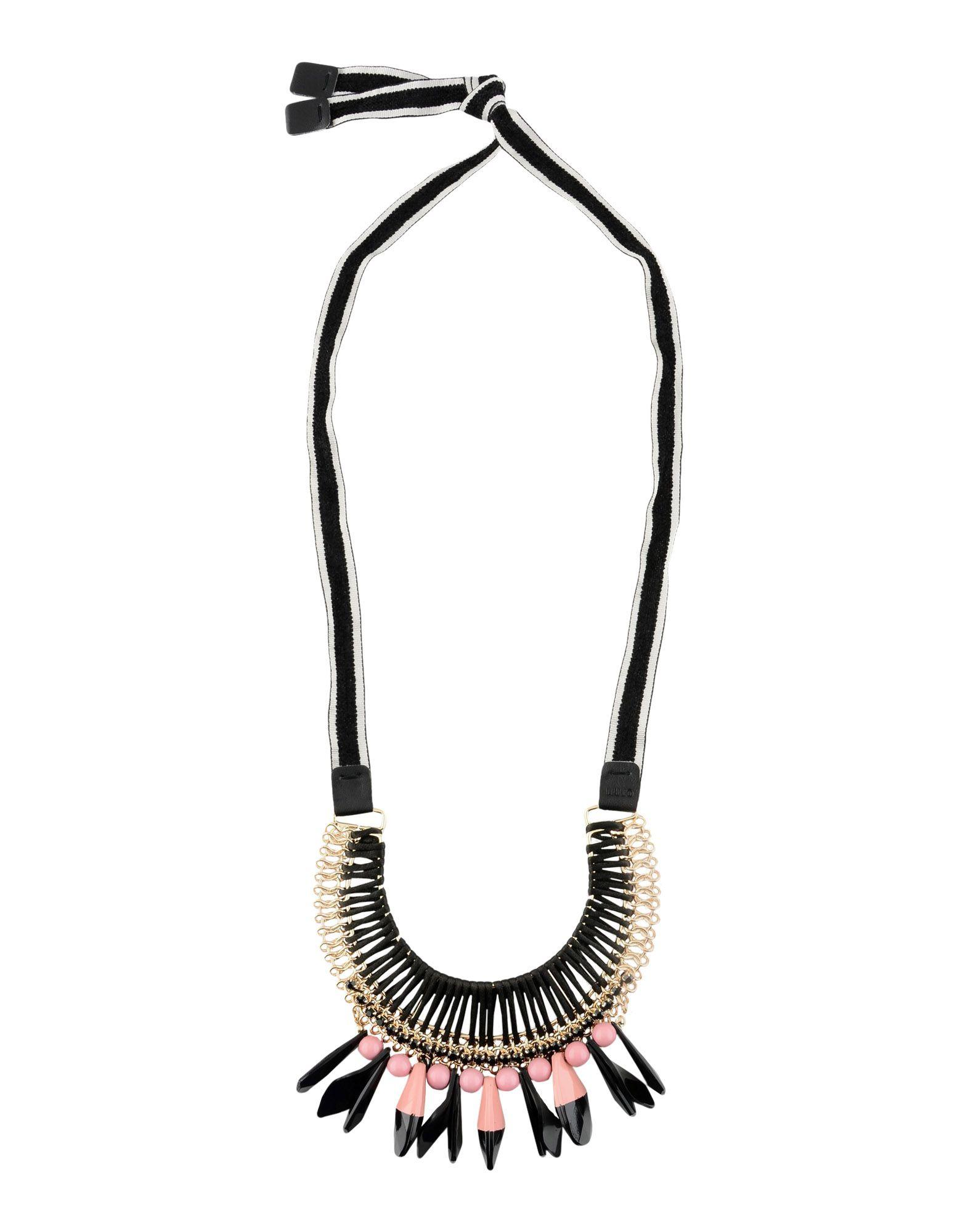 Liu •jo Necklace In Black