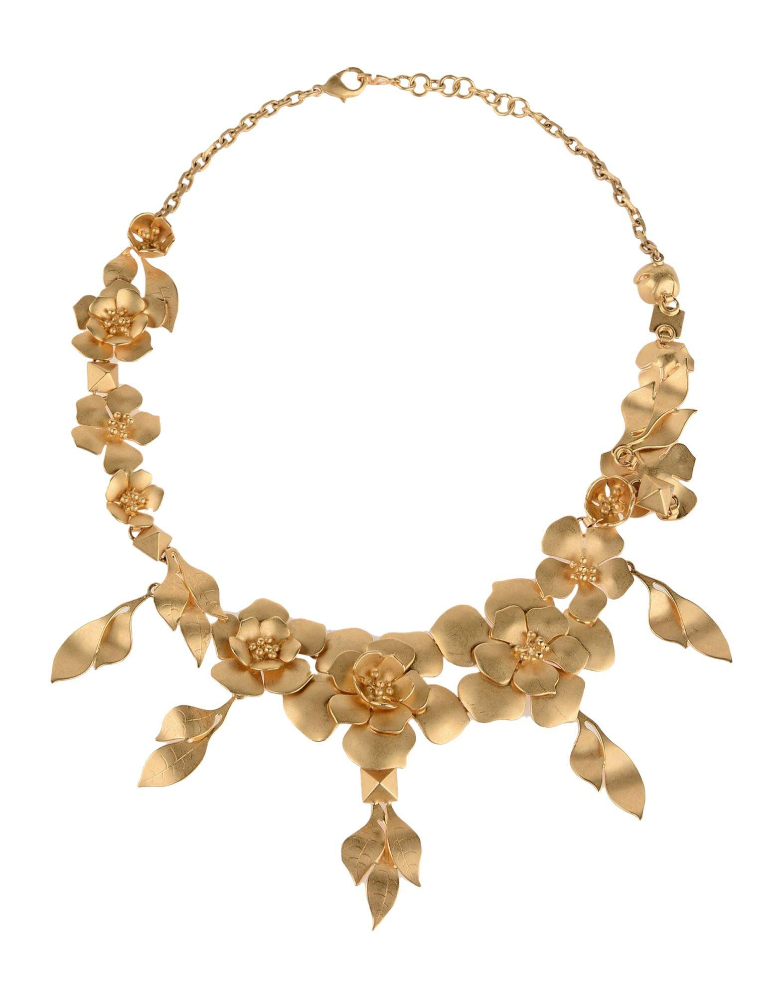 Valentino Garavani Necklace In Gold