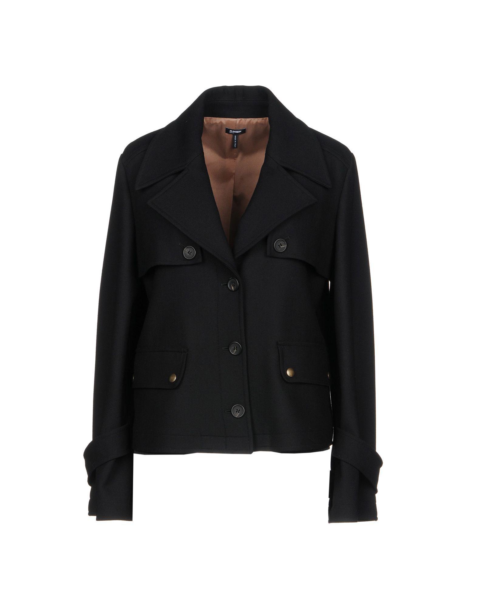 Jil Sander Blazer In Black