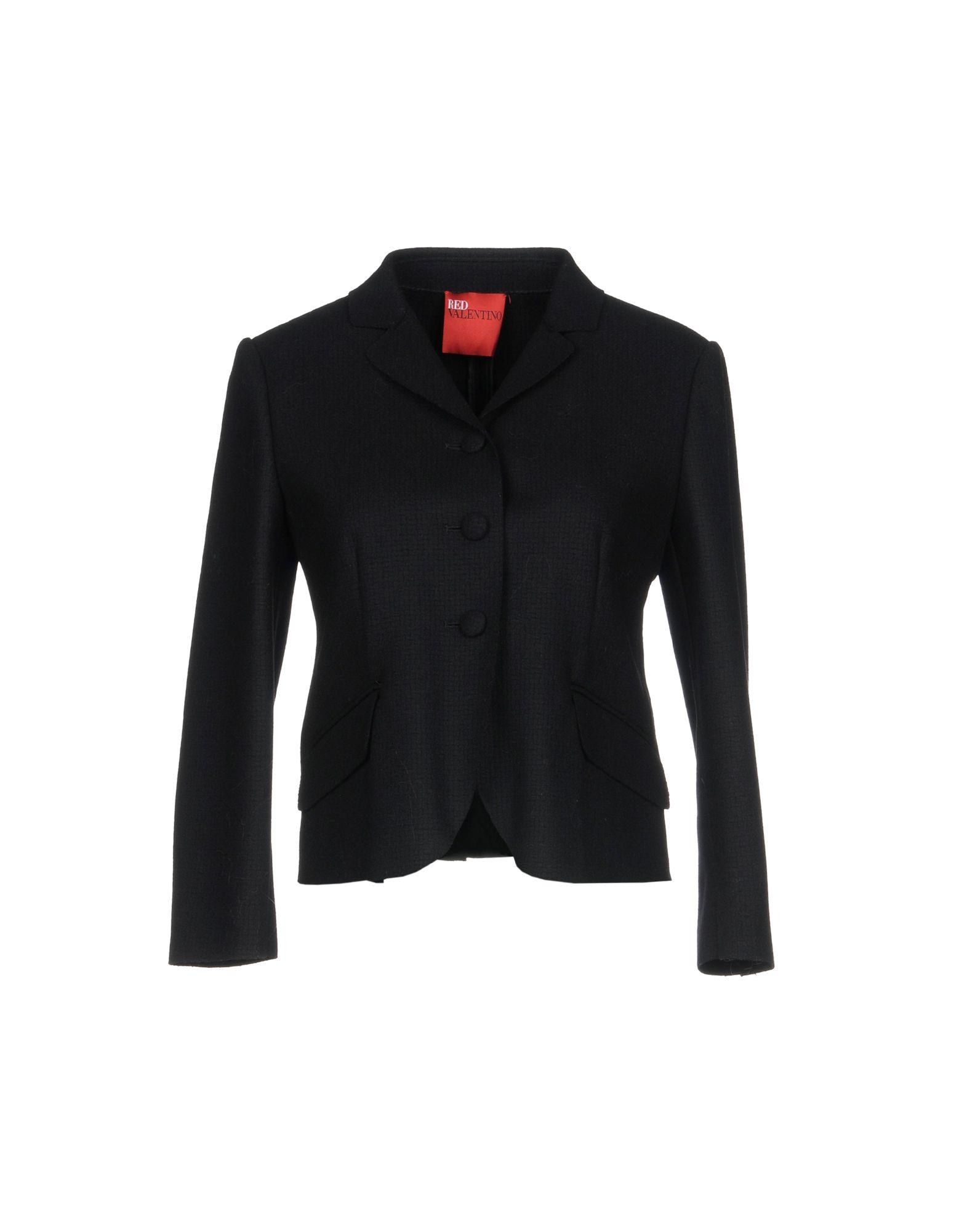Red Valentino Blazer In Black