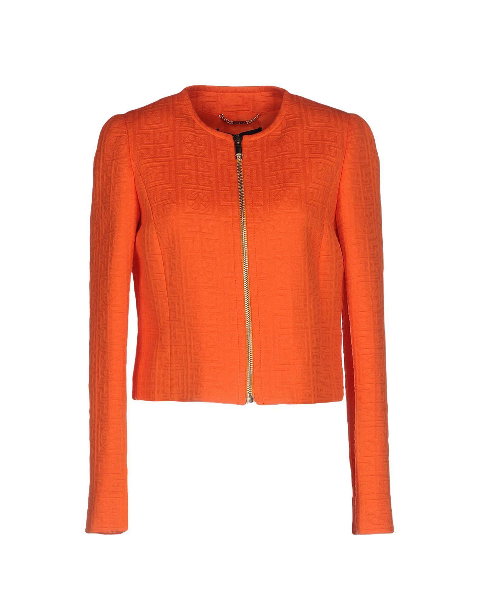 Versace Blazer In Orange