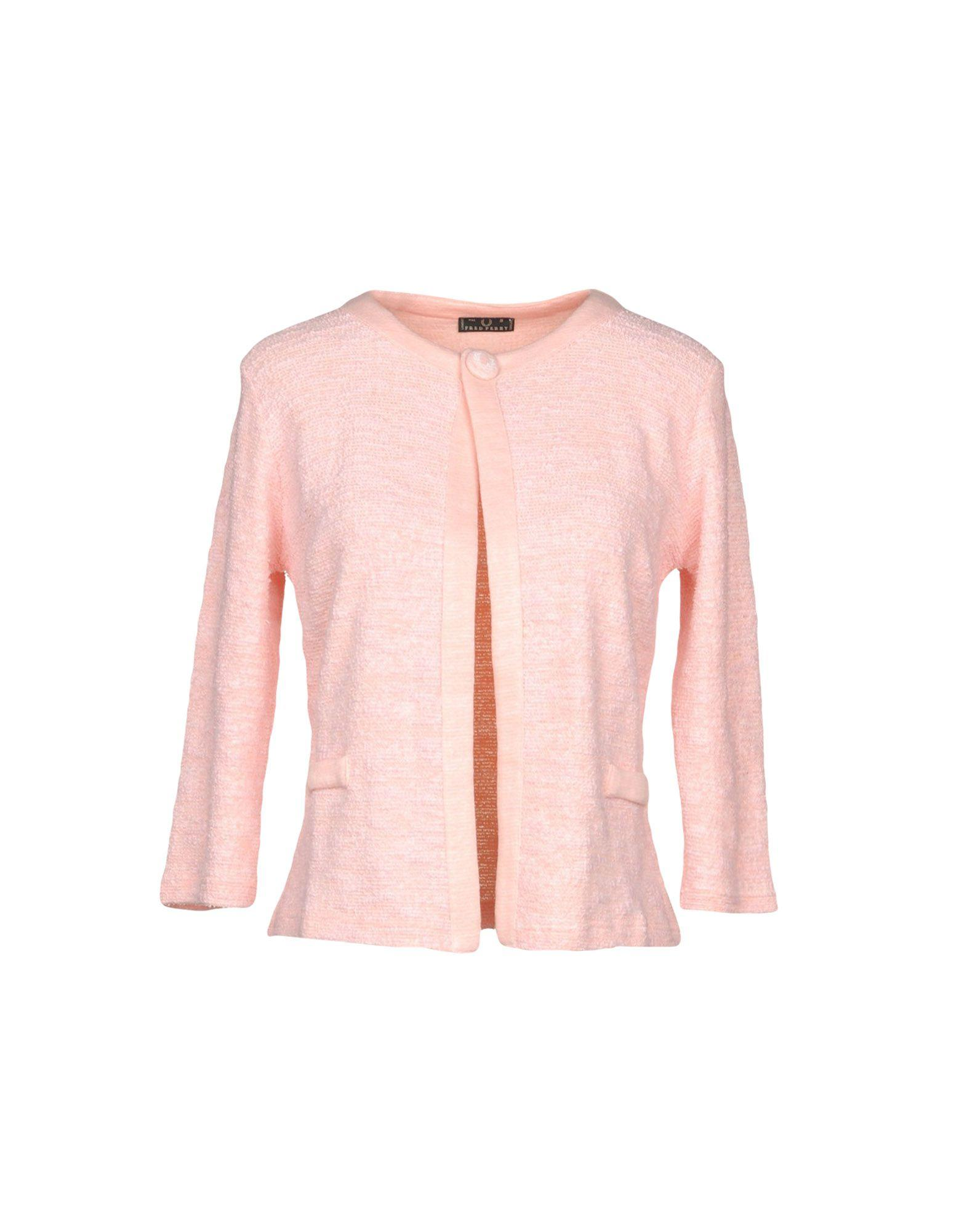 Fred Perry Blazer In Pink