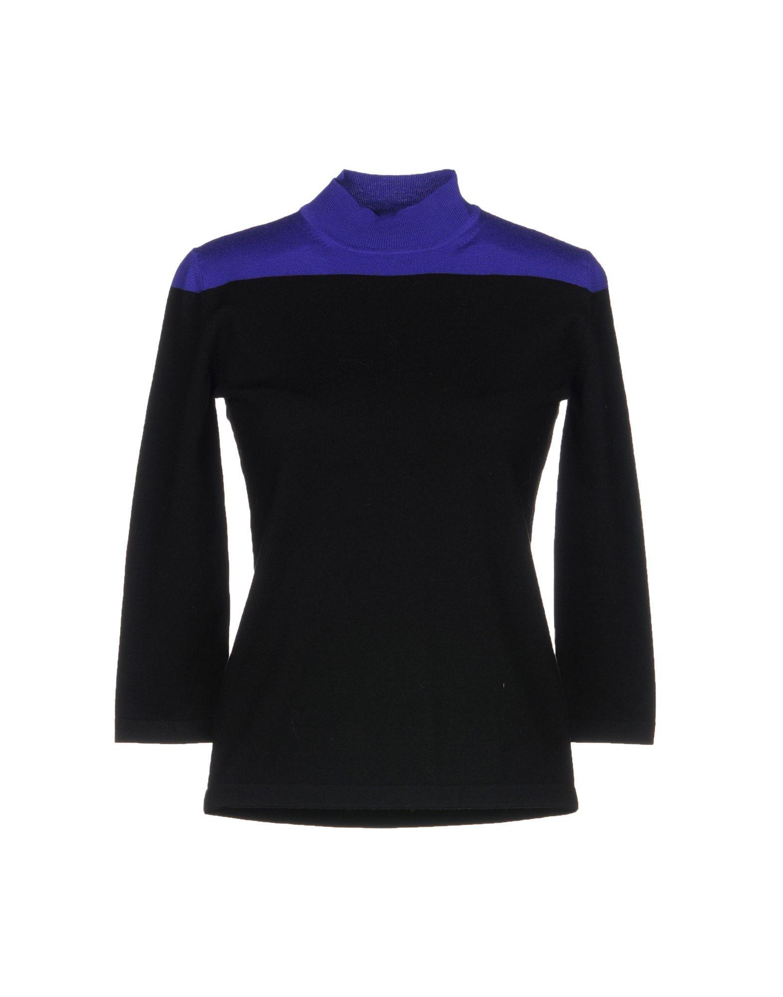 Jil Sander Sweaters In Black