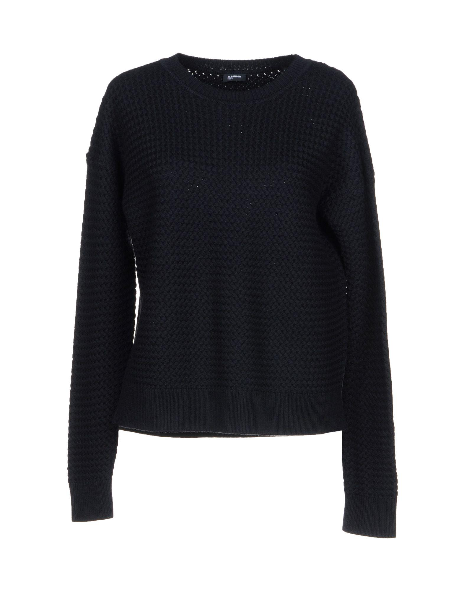 Jil Sander Sweater In Dark Blue
