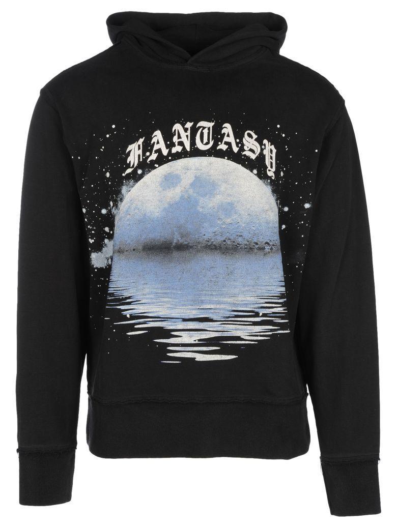 Misbhv Handcash Hooded Sweatshirt In Black + Blu