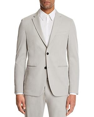 bd0d9366dc5 Theory Newson Cotton Slim Fit Suit Jacket In Ash Gray   ModeSens