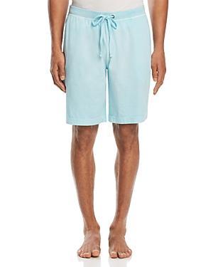 Daniel Buchler Peruvian Pima Cotton Lounge Shorts In Bright Blue