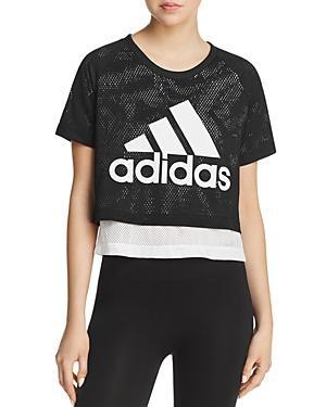 a93f966a8 Adidas Originals Adidas Id Layered Cropped T-Shirt In Black | ModeSens