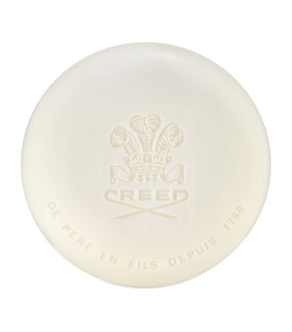 Creed Green Irish Tweed Soap (150g) In White