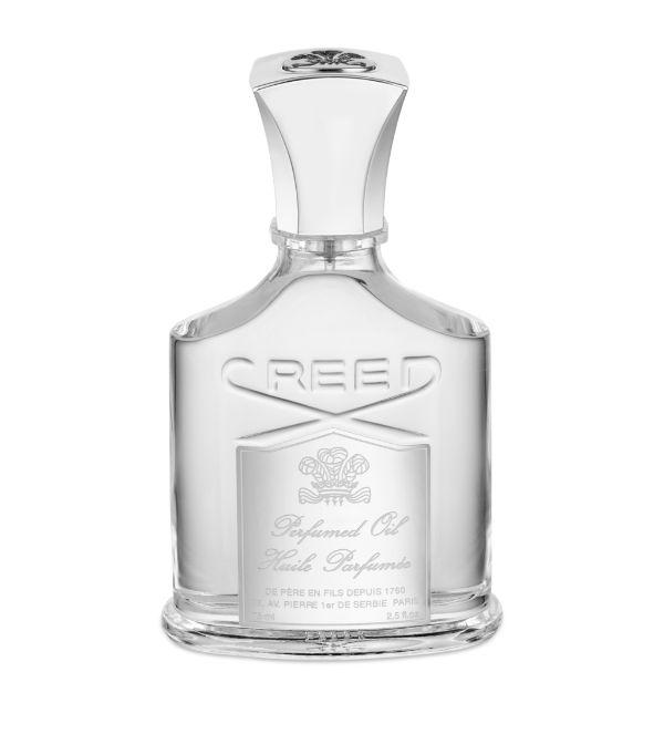 Creed Aventus Body Oil (75ml) In White