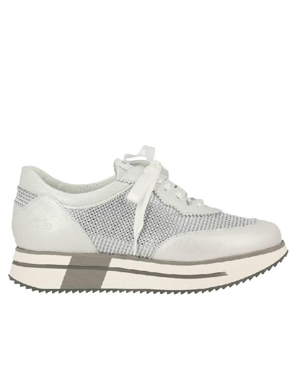 Alberto Guardiani Sneakers Shoes Women Guardiani In Silver