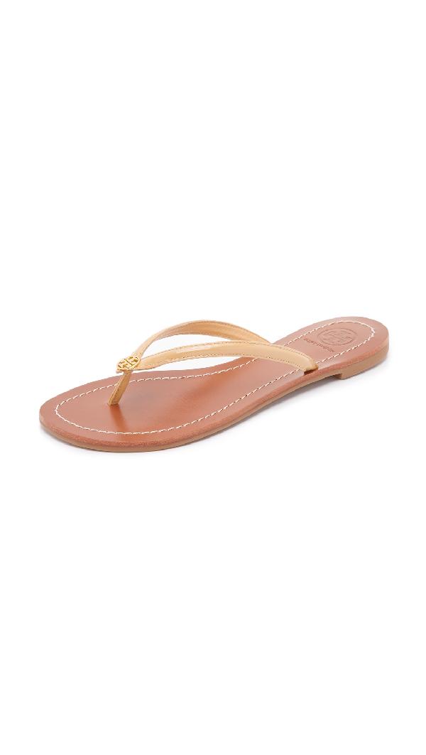 33a820aa0 Tory Burch Terra Thong Sandals In Sun Beige