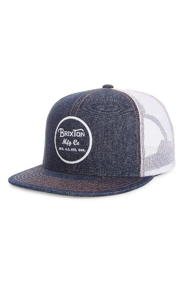13050dcb7 'BROOD' SNAPBACK CAP - BLUE