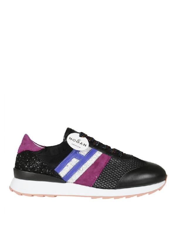 Hogan R261 Sneakers In Black
