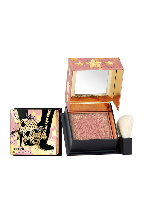 Benefit Cosmetics Gold Rush Powder Blush In N,a
