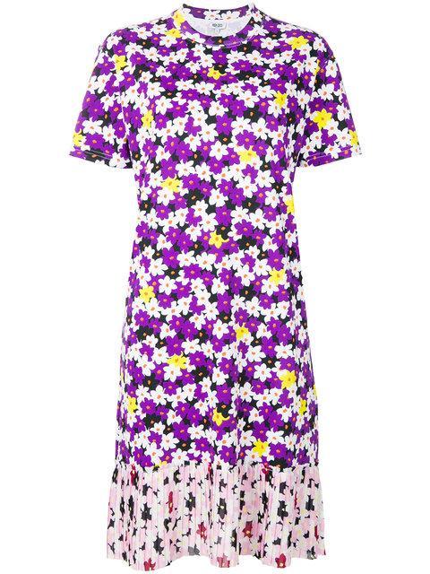 b07fe6473 Kenzo Floral Print T-Shirt Dress | ModeSens