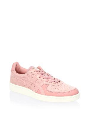 a8d98c02d15f Onitsuka Tiger Gsm Low-Top Suede Sneakers In Ash Rose